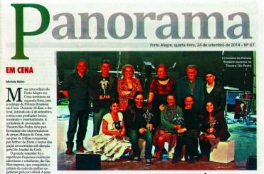 Prêmio Braskem em Cena 2014_Jornal do Comércio_Panorama 01