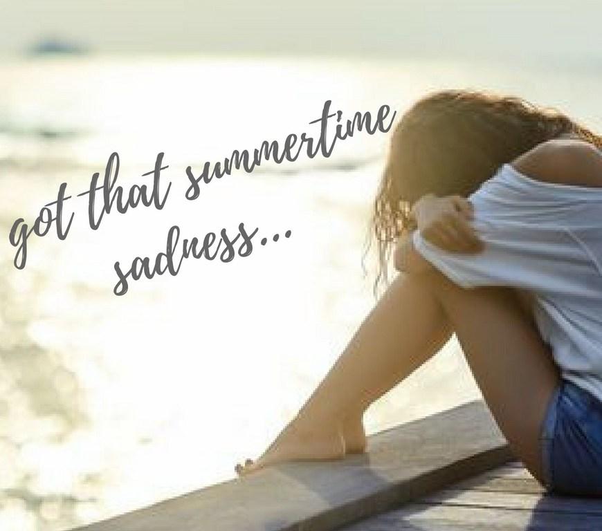 Κατάθλιψη, εποχική κατάθλιψη, κατάθλιψη Χριστουγέννων, summertime sadness,