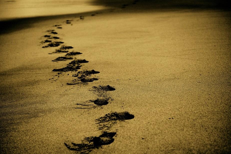 άμμος-βήματα