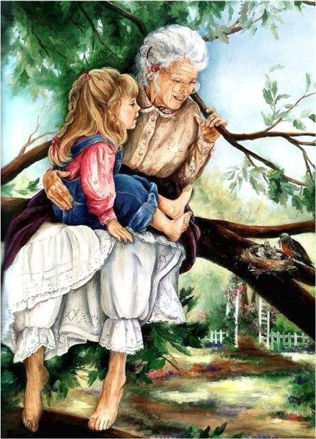 πίνακας-γιαγιά