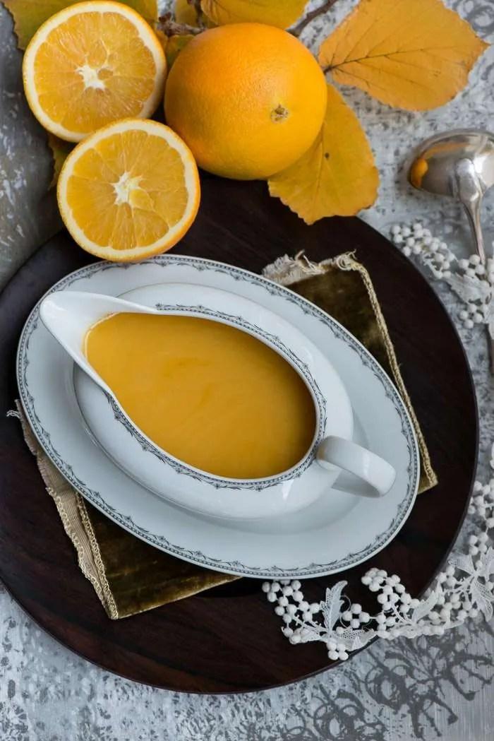Opskrift på appelsinsovs