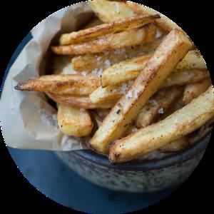 Opskrift på de bedste hjemmelavede pommes frites lavet i ovnen