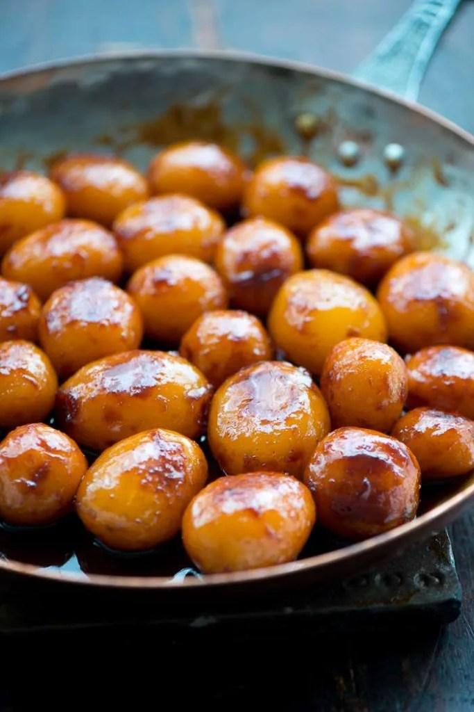 Perfekte brune kartofler. Opskrift fra Marinas Mad