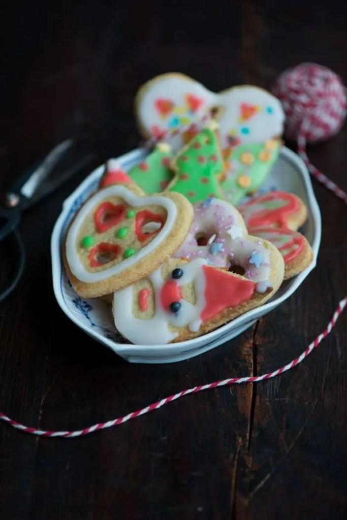 Glasur til julesmåkager. Opskrift fra Marinas Mad