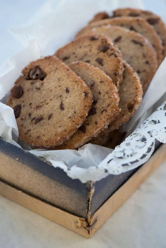chokolade småkager opskrift