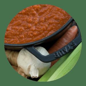 Hjemmelavet tomatsovs. Opskrift