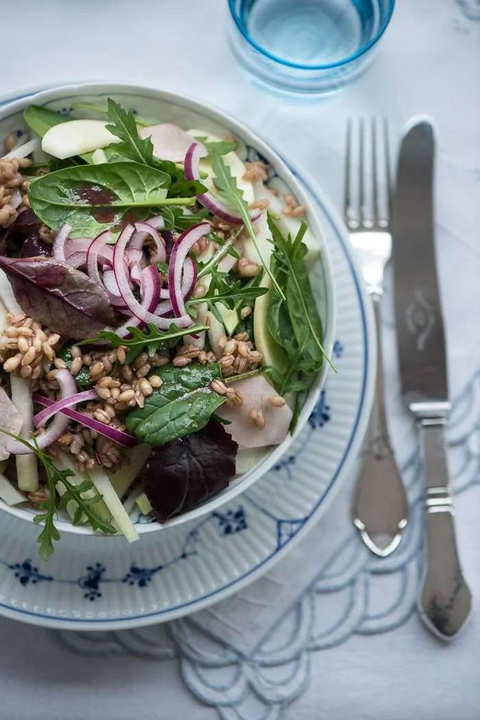 salat med perlebyg