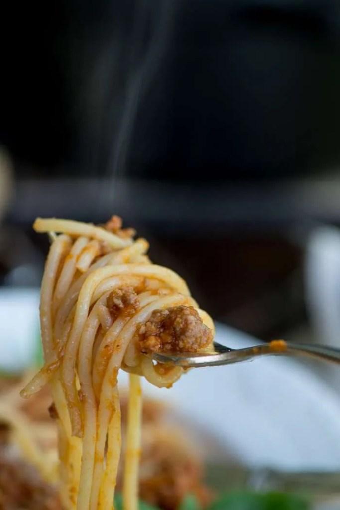 Opskrift på kødsovs til spaghetti