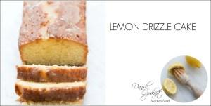 Lemon drizzle cake opskrift