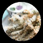 Asparges fritter opskrift