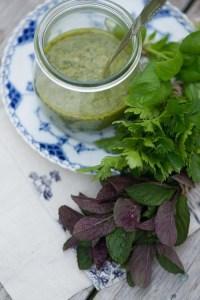Salsa Verde. Opskrift