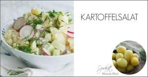 Hjemmelavet kartoffelsalat. Opskrift