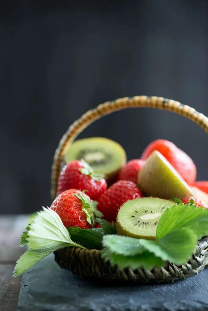 Frugt til Pavlova opskrift