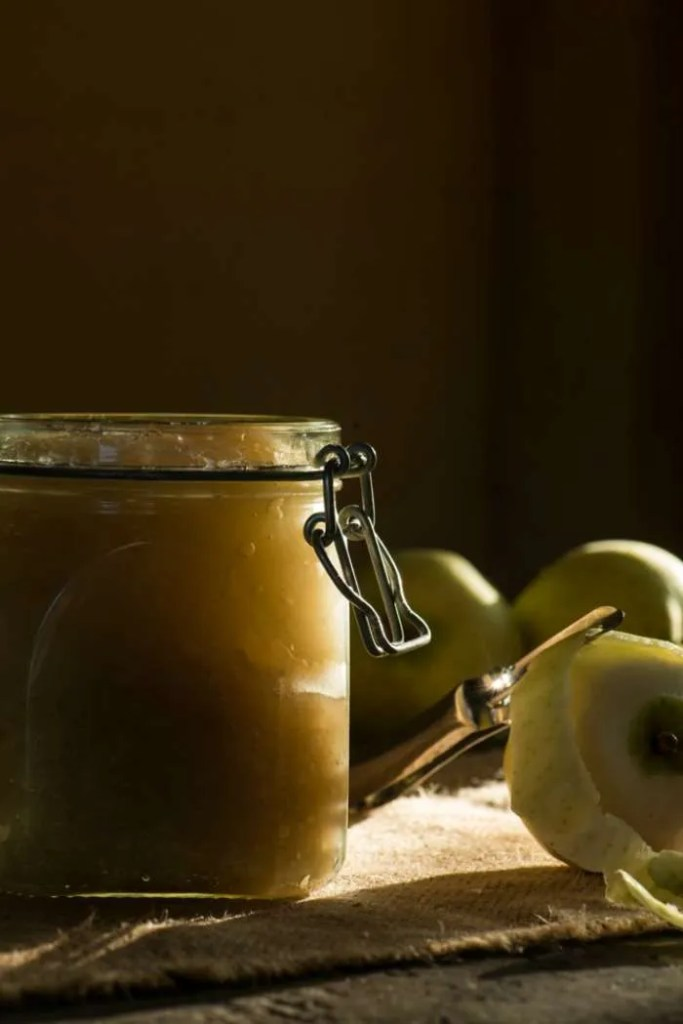 Hjemmelavet æblemos. Opskrift