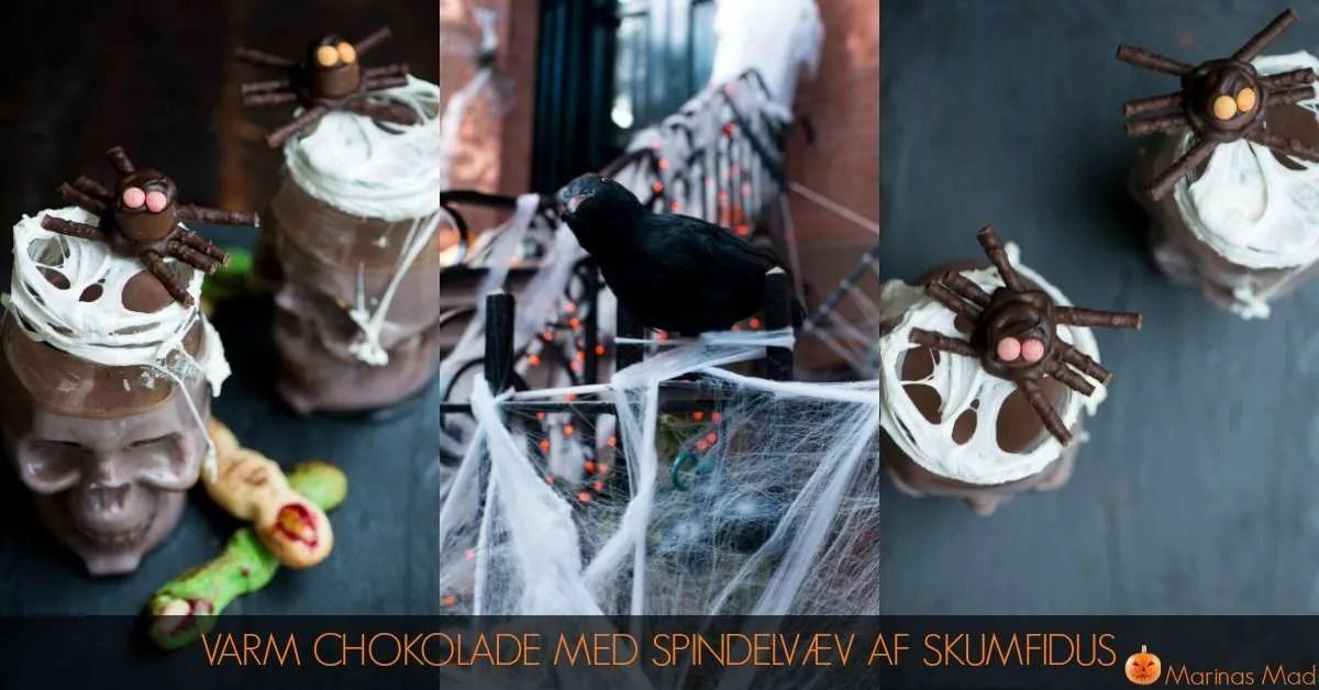 Varm kakao Halloween