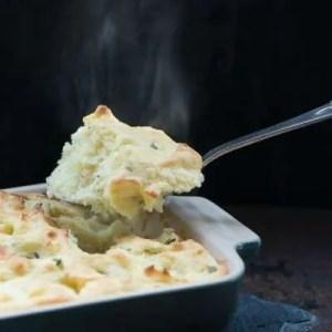 Marinas opskrift på ovnbagt kartoffelmos