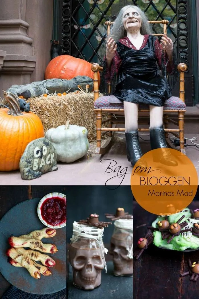Jeg fotograferer Halloween opskrifter