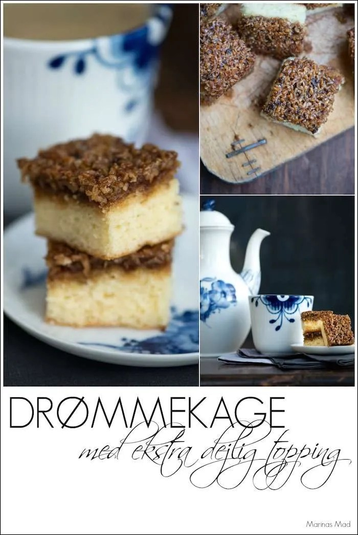 Drømmekage fra Brovst. Ekstra dejlig opskrift fra Marinas Mad