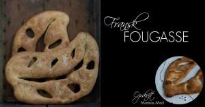 Fougasse fransk madbrød