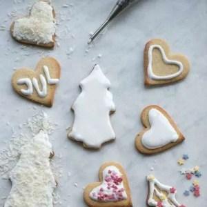 opskirft på småkage glasur