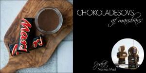 chokoladesovs med mars. En nem opskrift fra Marinas Mad