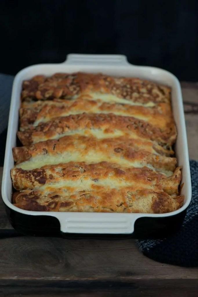 Opskrift på madpandekager med oksekød og hvidkål fra Marinas Mad