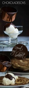 Opskrift på hjemmelavet chokoladesovs til is og pandekager