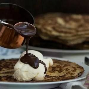 Opskrift på chokoladesovs til pandekager