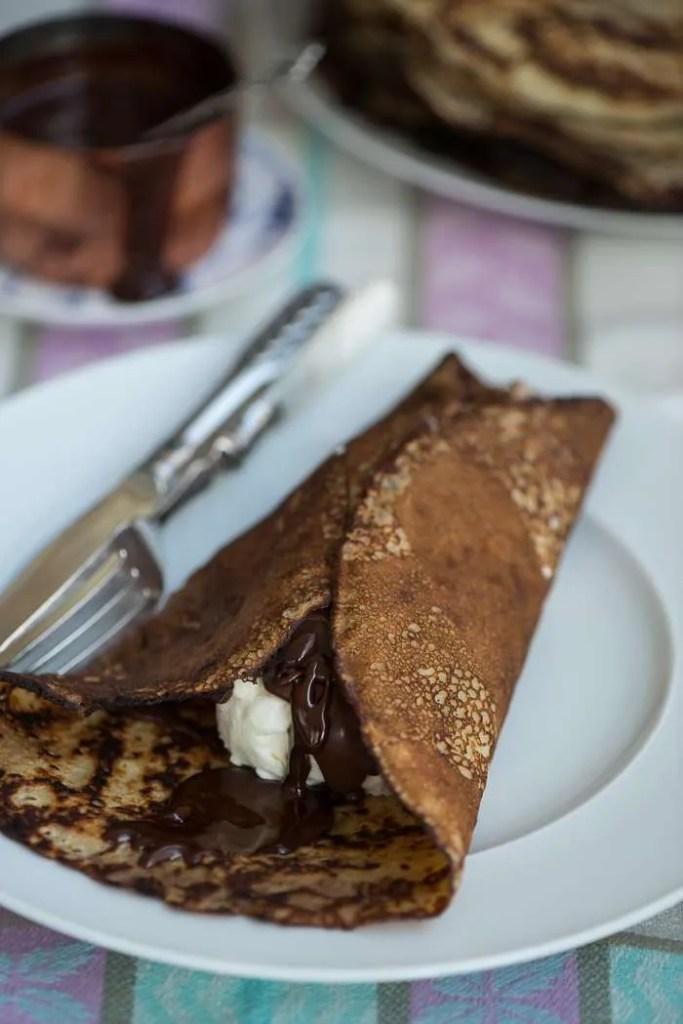 Opskrift på pandekager med is fra Marinas Mad