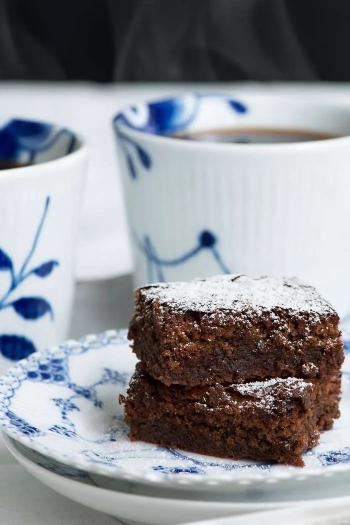 Opskrift på den bedste chokolade brownie fra Marinas Mad