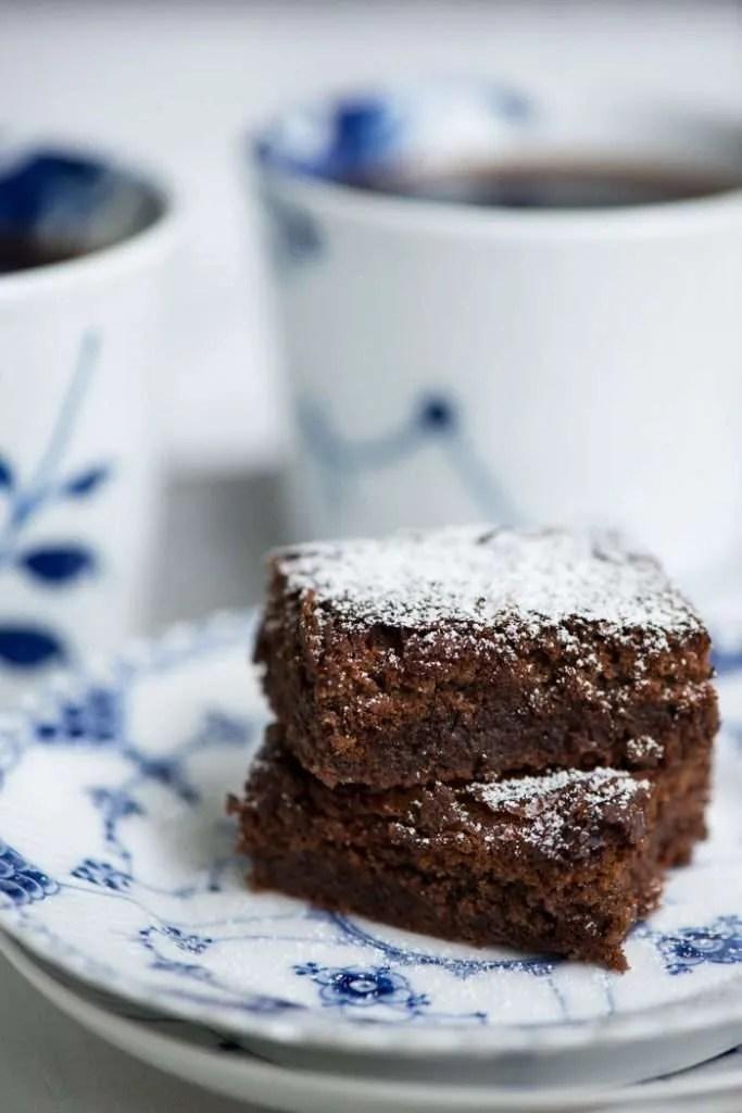 Opskrift på den helt rigtige amerikanske brownie