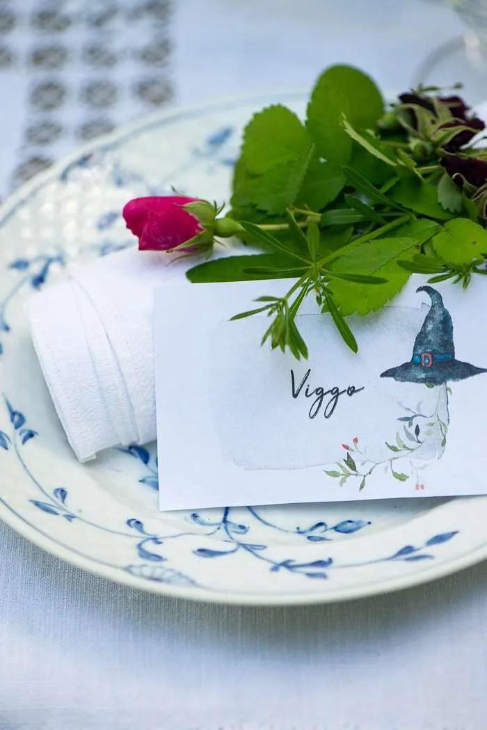 Bordkort til Sankt Hans aften. Tre forskellige motiver lige til at printe helt gratis fra Marinas Mad