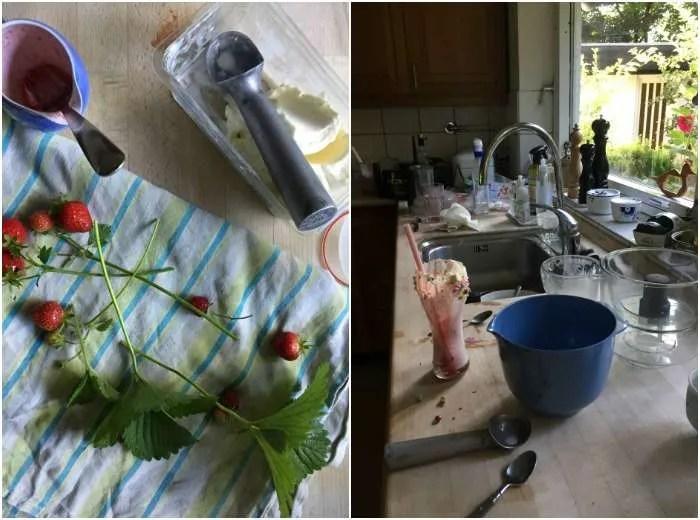 Foto køkken kaos