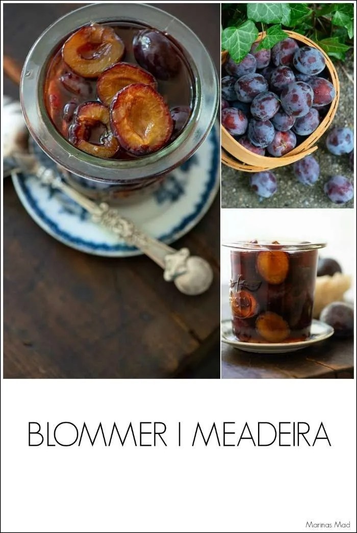 Sådan sylter du dine egne blommer i Madeira