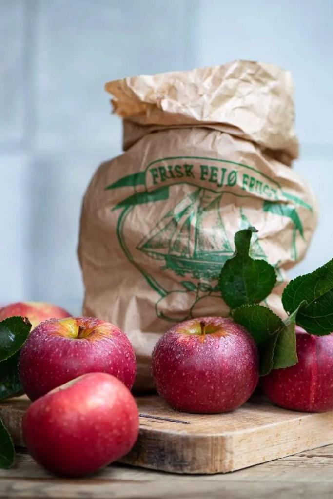Æbler til kandiserede æbler