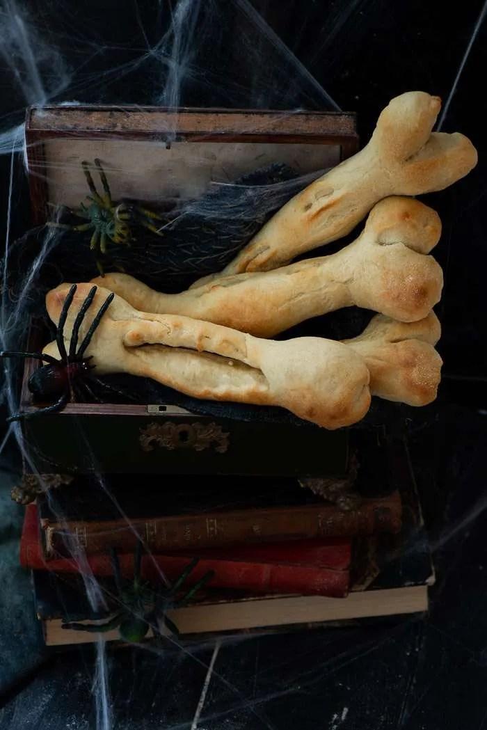 Brød til Halloween middagen