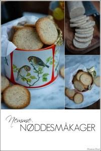 Nemme småkager med hasselnødder. Opskrift fra Marinas Mad