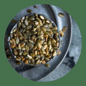 Opskrift på ristede græskarkerner