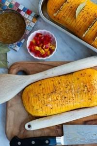 Sådan laver man hasselbagt butternut squash