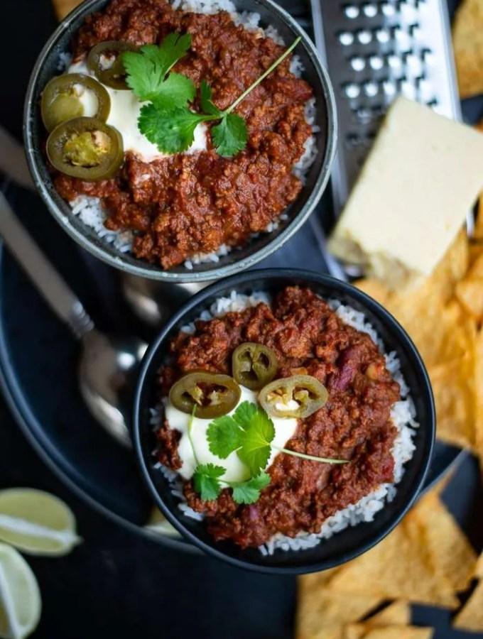 Opskrift på den bedste chili con carne