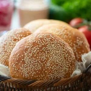Opskrift på hjemmelavede burgerboller