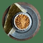 Opskrift på ristede kikærter med dukkah