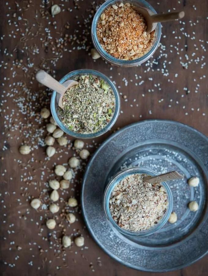 Opskrift på dukkah krydderi