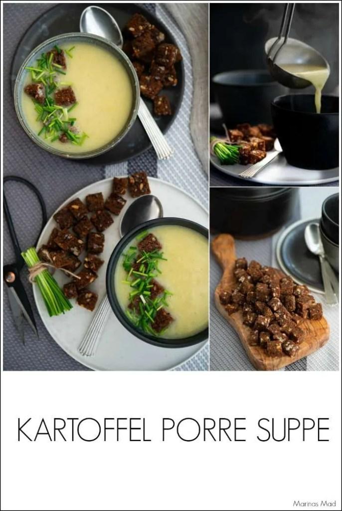 Nem opskrift på kartoffel porre suppe