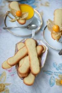 Opskrift på en lille småkage til dessert