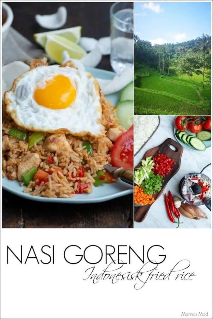 Sådan laves Indonesisk fried rice