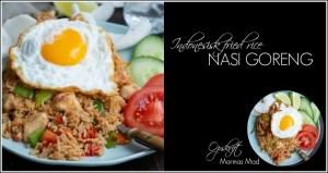 Fried Ris: Nasi Goreng fra Indonesien.