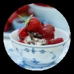 Opskrift på nem jordbærdessert