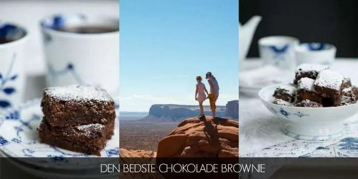 Opskrift på den bedste chokolade brownie