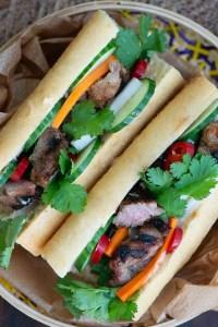 Opskrift på banh mi sandwich
